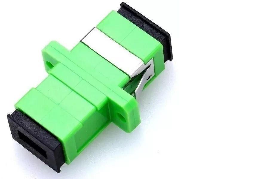 Acoplador Óptica Para Fibra Sc/apc - Homologado