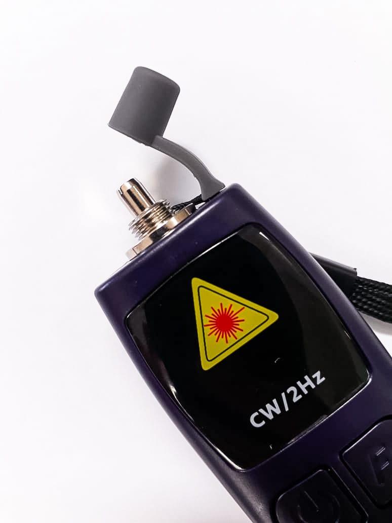 Caneta Laser Visualizador De Falhas Fibra Óptica 10mw 15km  - infoarte2005
