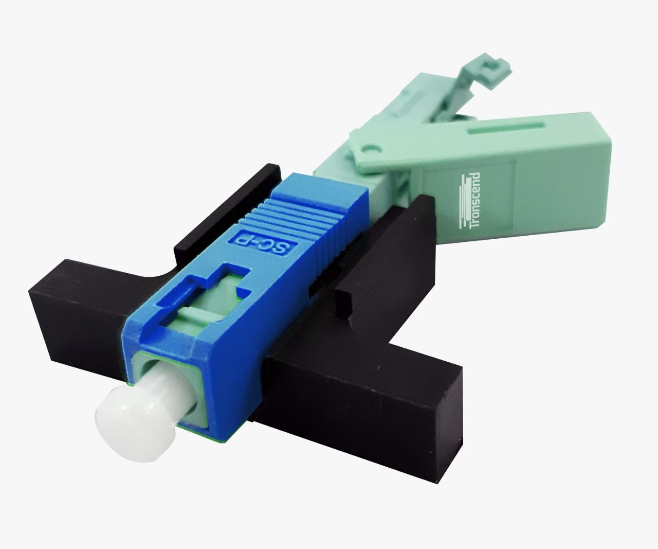Conector Fast Crimp Transcend Sc/ Apc Kit C/ 10 Unidades