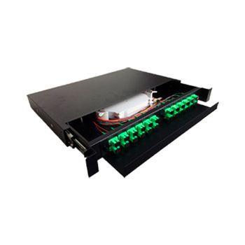 Dio Completo 24fo - Distribuidor Interno Optico Sc Apc 1u  - infoarte2005