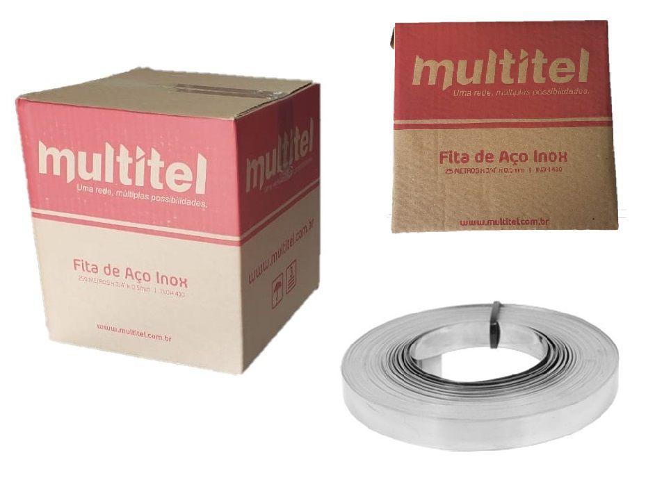 FITA DE AÇO INOX 430 3/4 MULTITEL