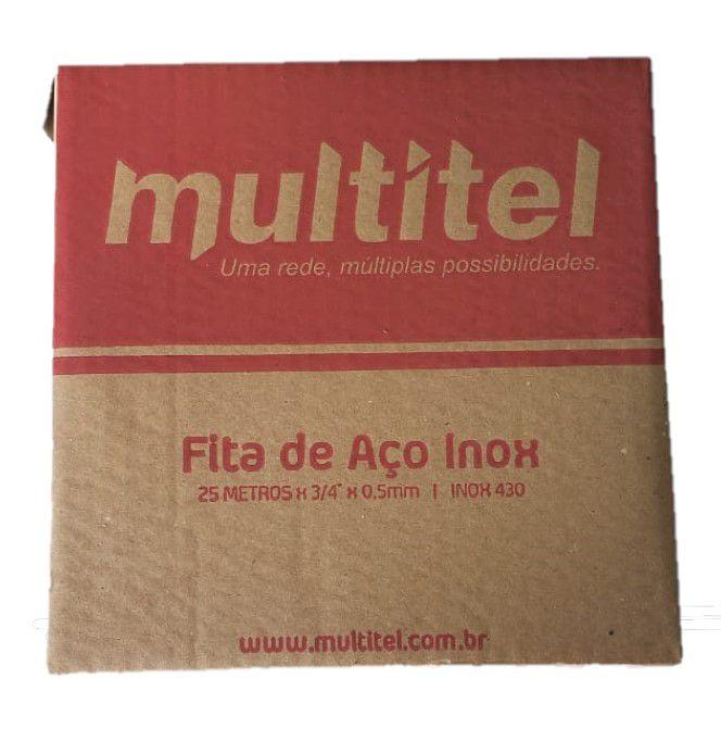 FITA DE AÇO INOX 430 3/4 MULTITEL  - infoarte2005