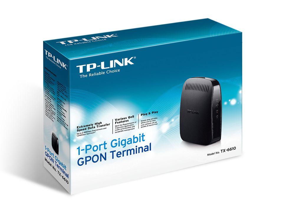 Onu Gpon Tx6610 Tp-link 1p Gigabit