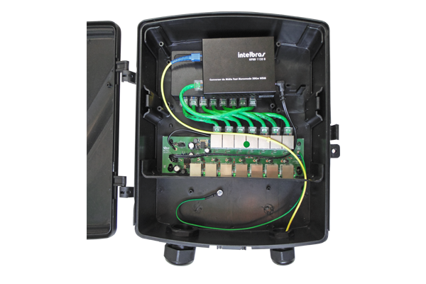 Pd Pac Solução Híbrida Com Switch Intelbras - Volt  - infoarte2005