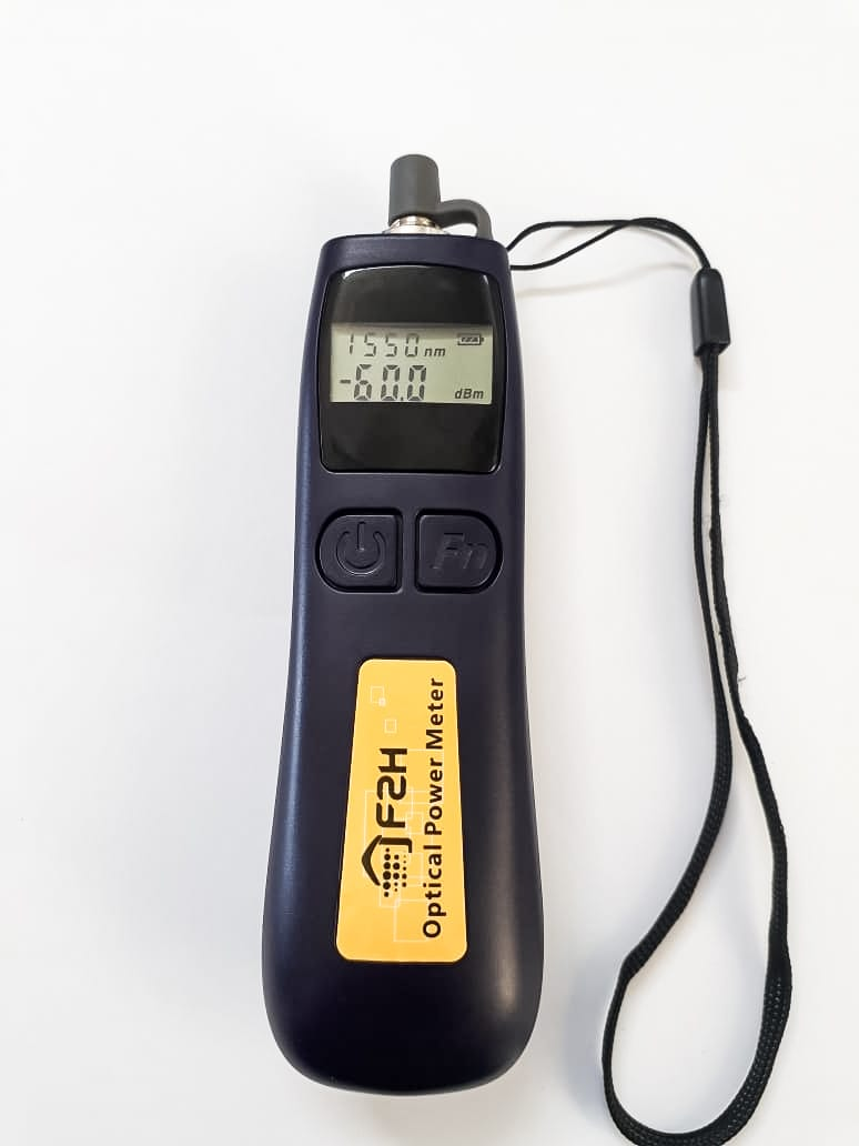 Power Meter Medidor De Potência De Fibra Óptica F2h  - infoarte2005