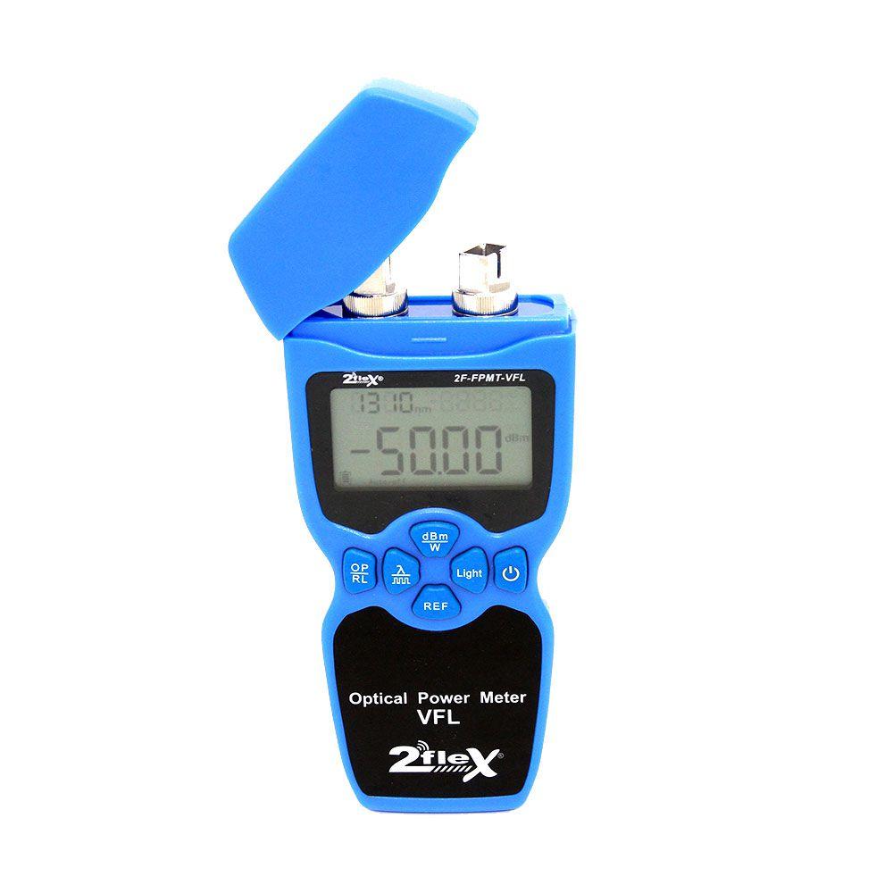 Power Meter Óptico -com Caneta De Luz 2 Flex
