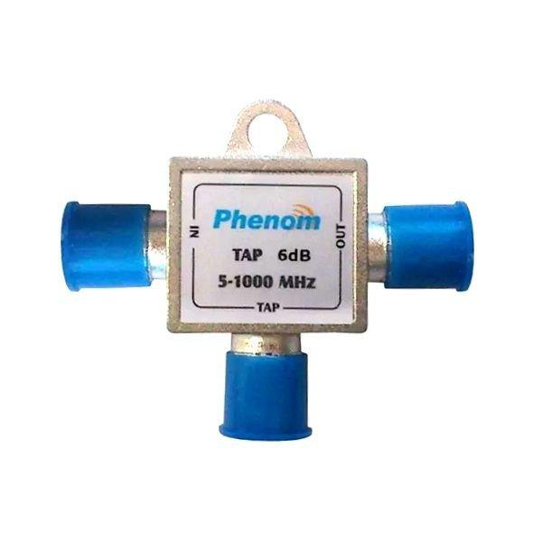 Tap Tipo T 12db 1ghz (phenom) Divisor cabo tv  - infoarte2005