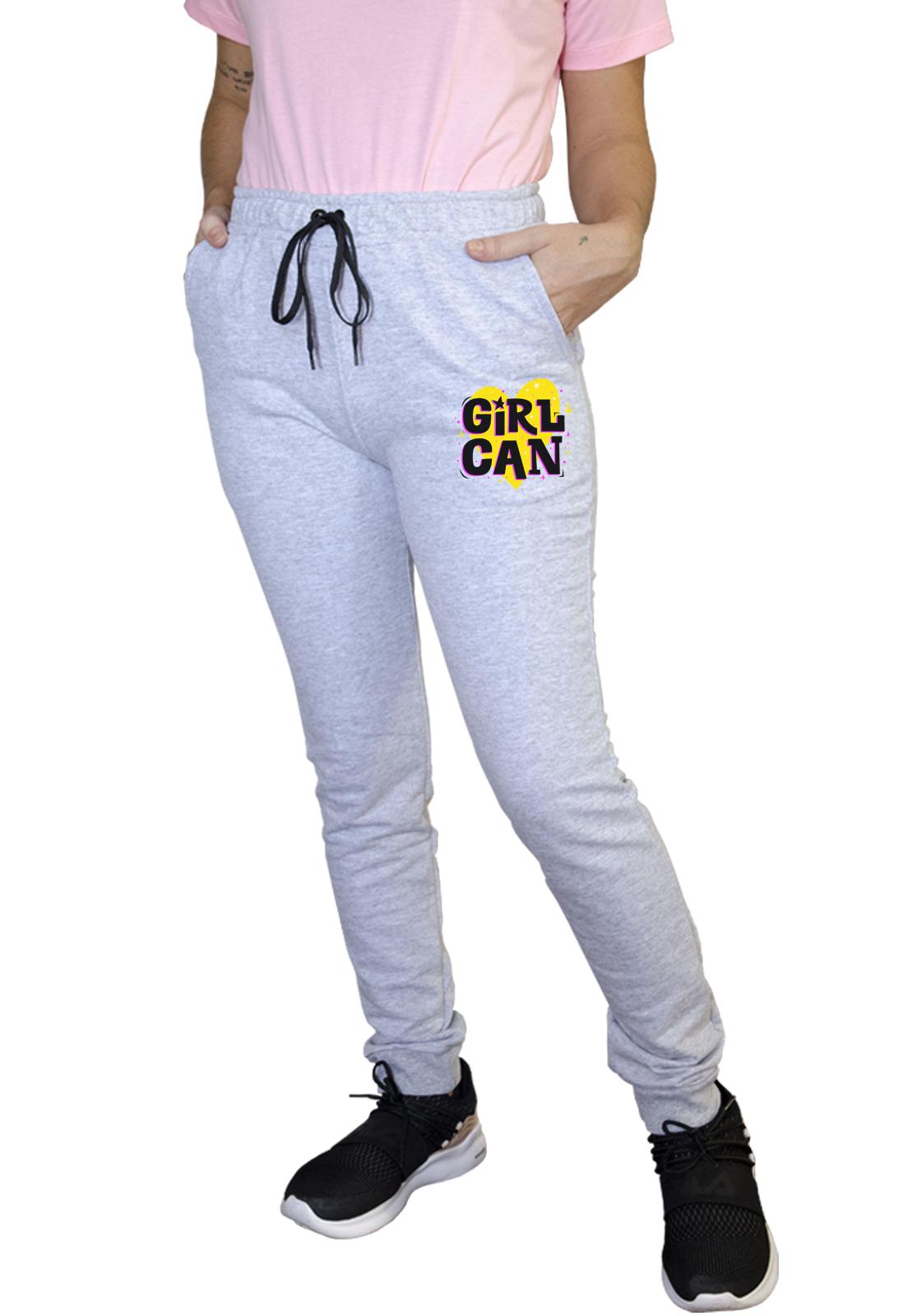 Calça Feminina Jogger Boutique Judith Girl Can