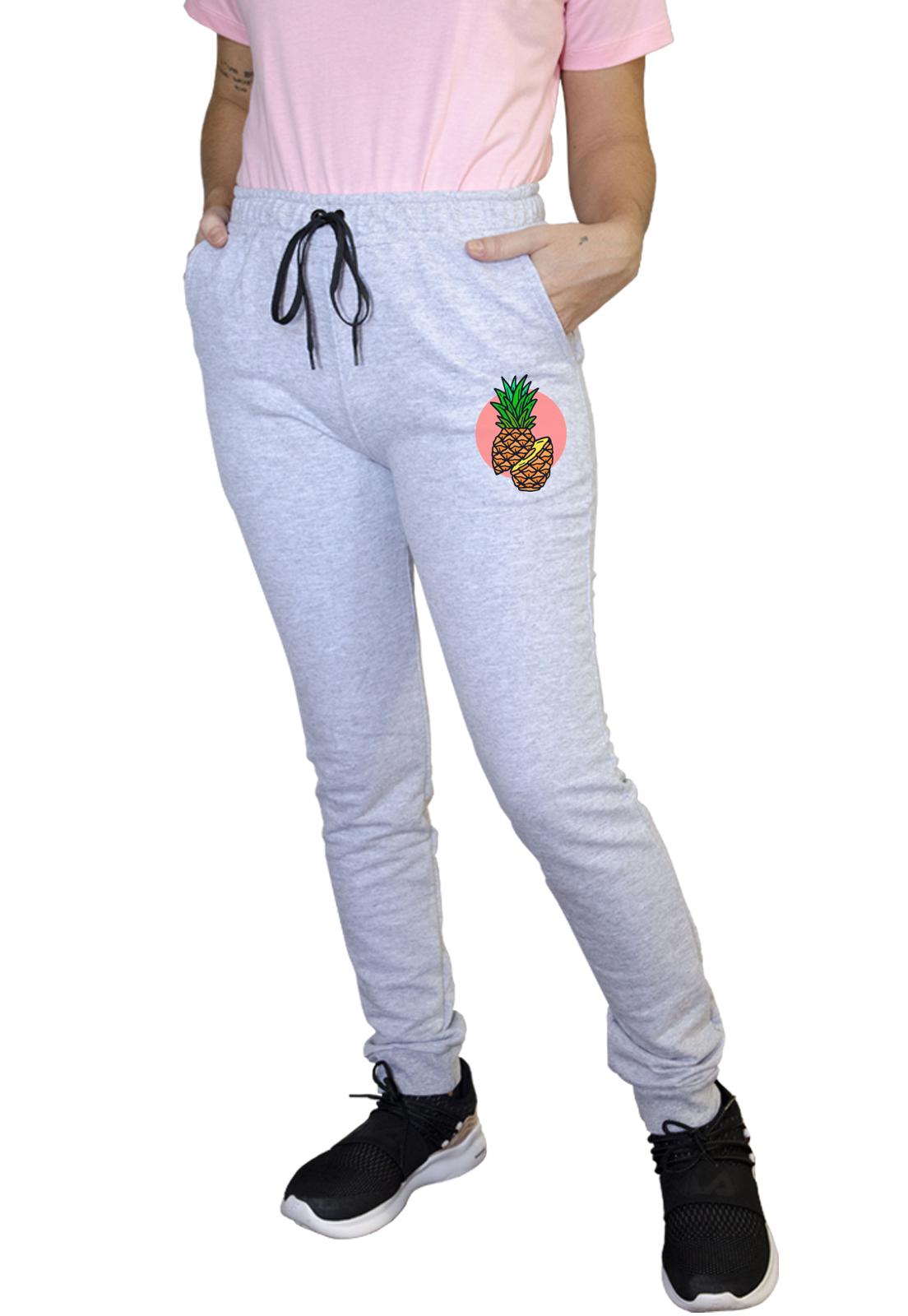 Calça Feminina Jogger Boutique Judith Pineapple