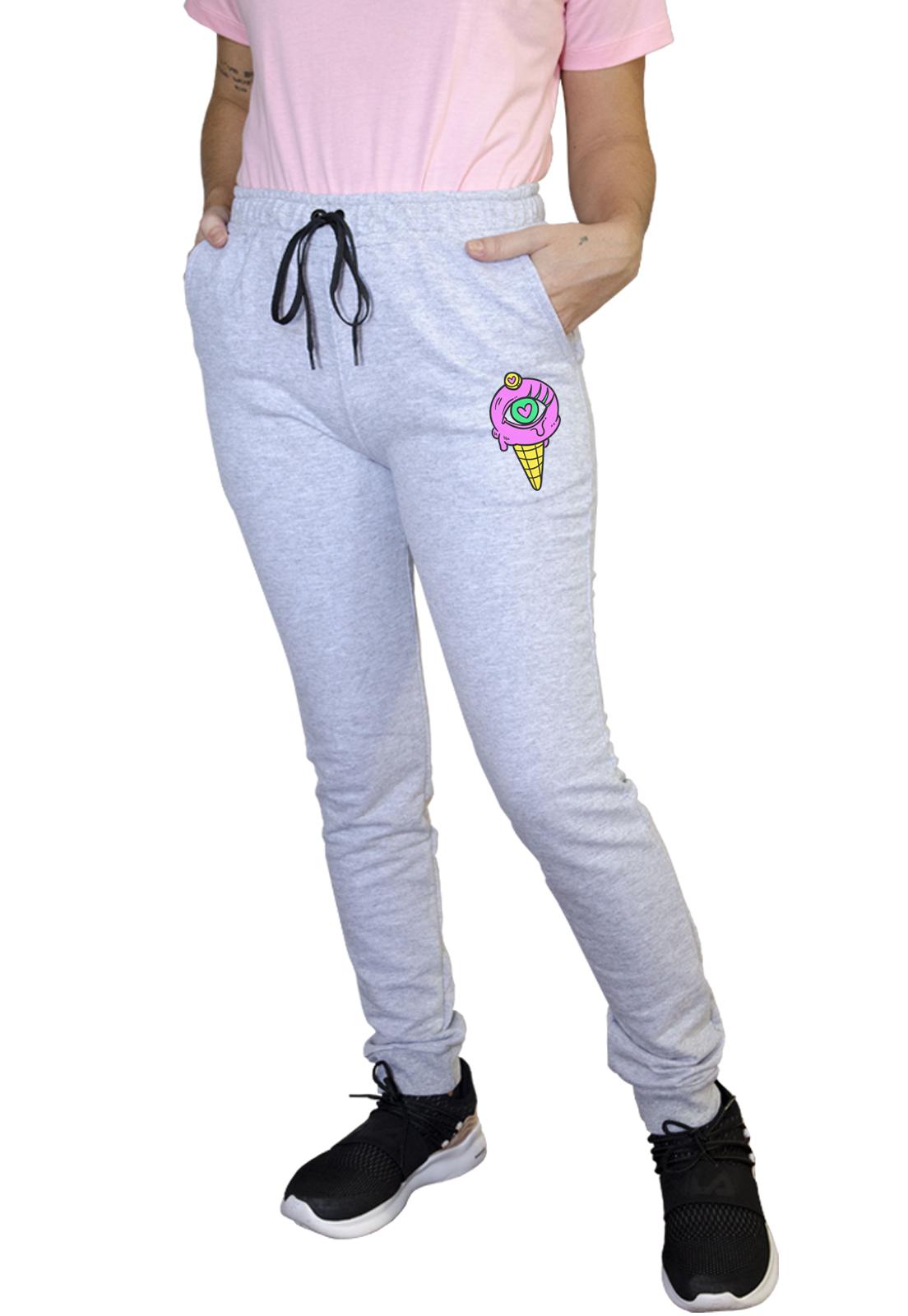 Calça Feminina Jogger Boutique Judith Purple Ice