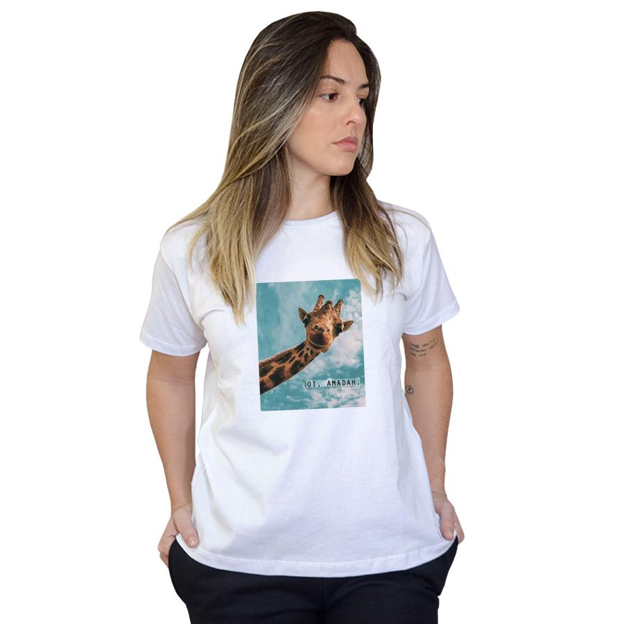Camiseta Boutique Judith Oi Amadah