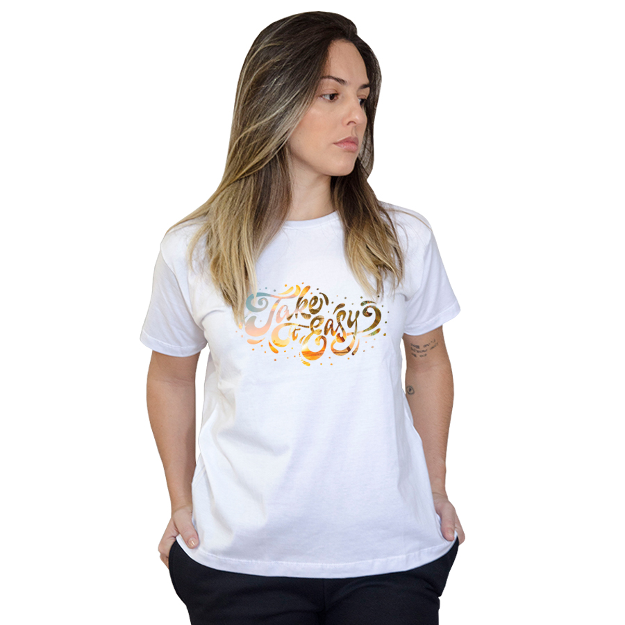 Camiseta Boutique Judith Take It Easy