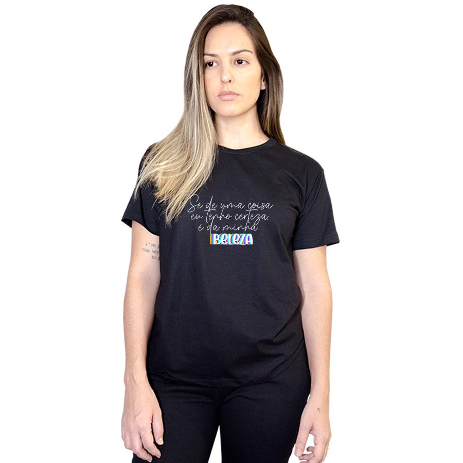 Camiseta Feminina Minha Beleza