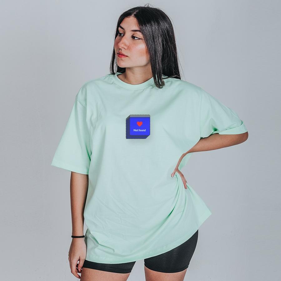 Camiseta Feminina Oversized Boutique Judith Amor Não Encontrado