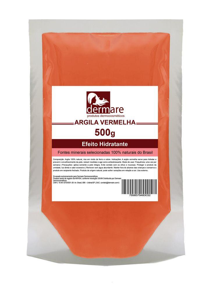 Argila Vermelha  Antiidade e Redutora 500g