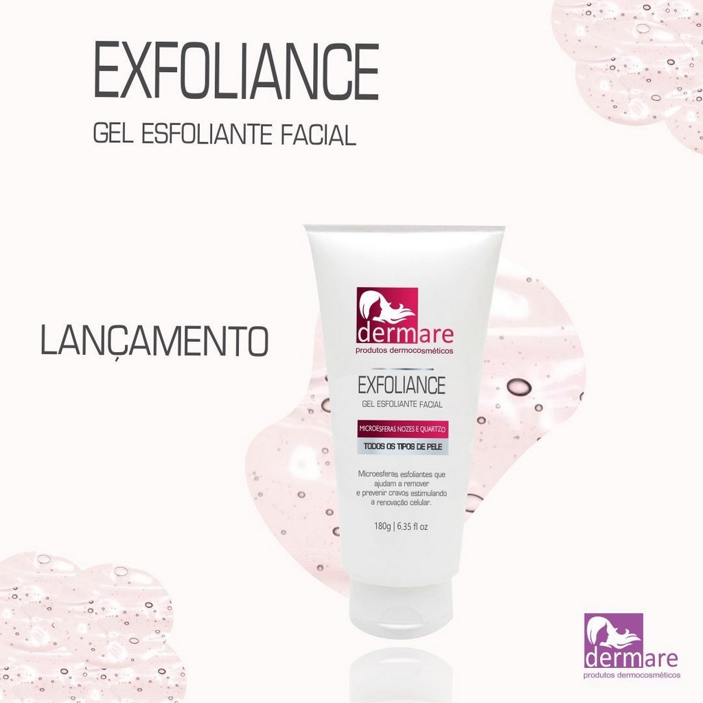 Gel Exfoliance Facial 180G Dermare