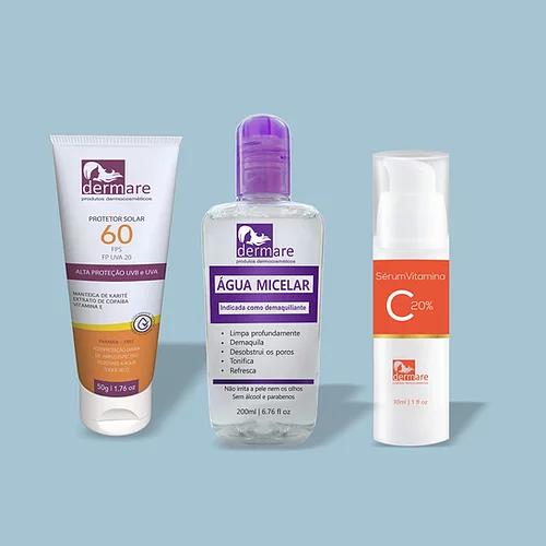Kit Skin Care Dermare c/bolsa