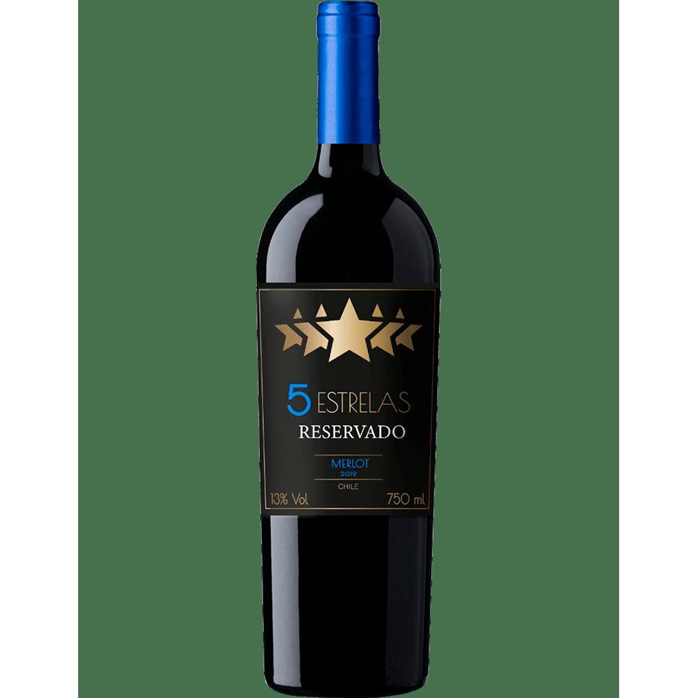 Vinho 5 Estrelas Reservado Merlot