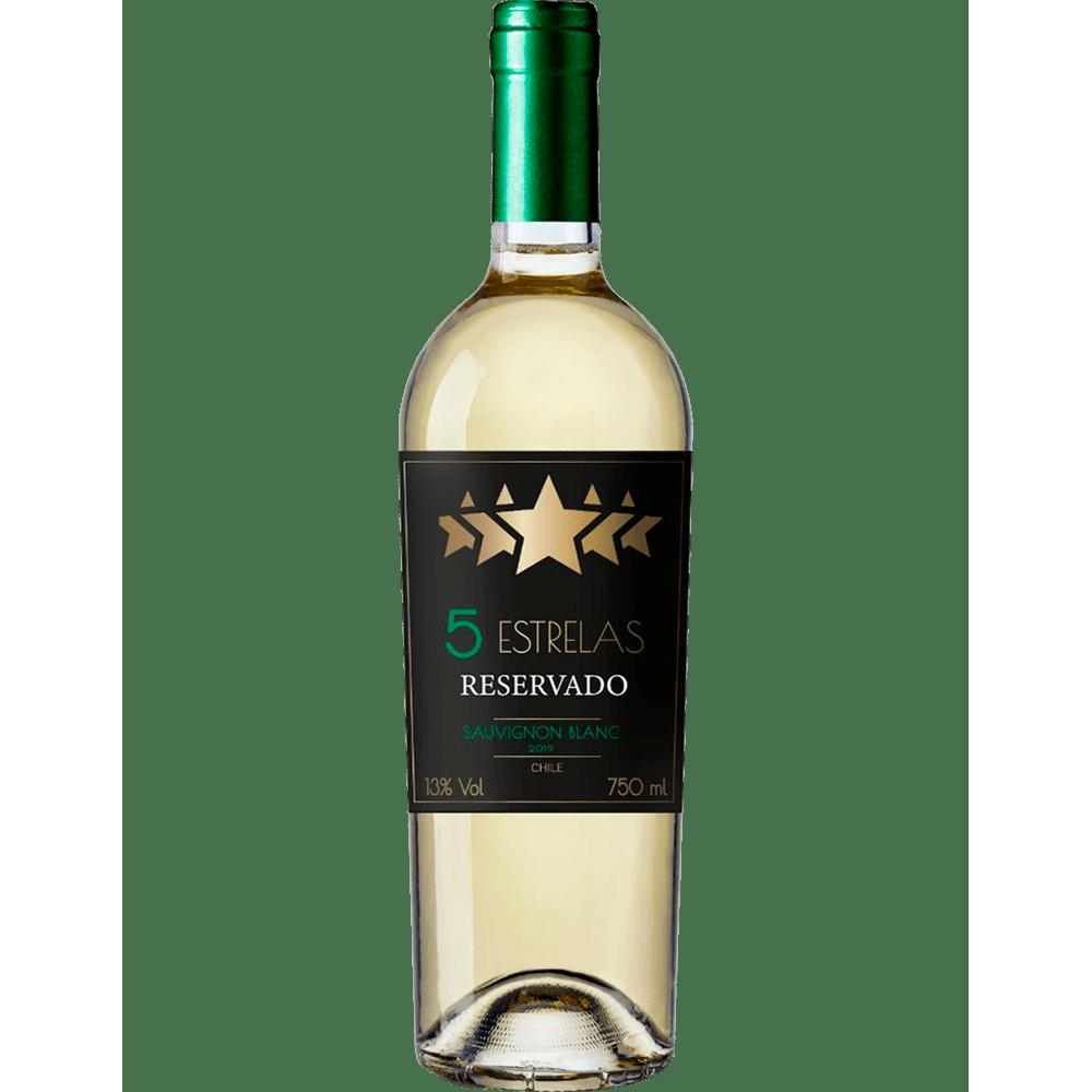 Vinho 5 estrelas Reservado Sauvignon Blanc