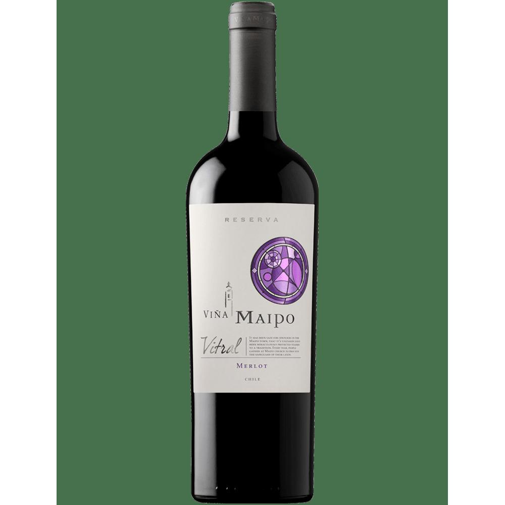 Vinho Vina Maipo Vitral Merlot 750ml