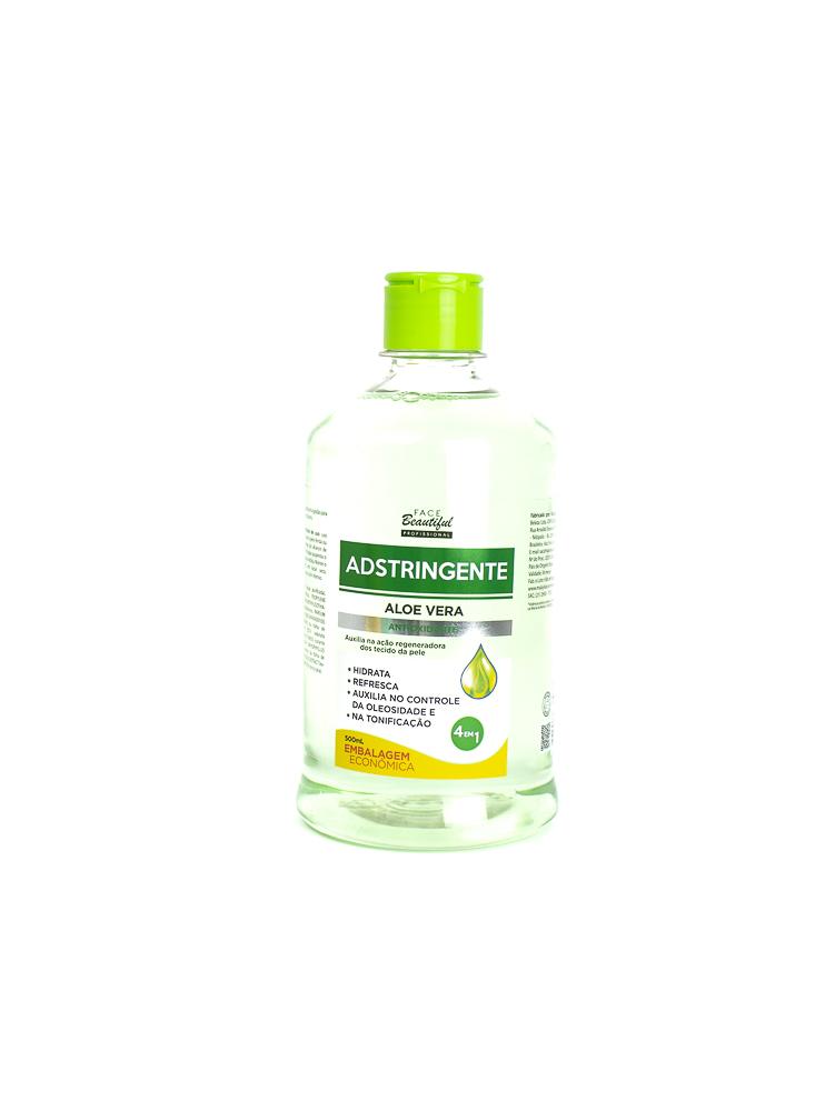 Adstringente Aloe Vera Antioxidante 500ml - Face Beautiful