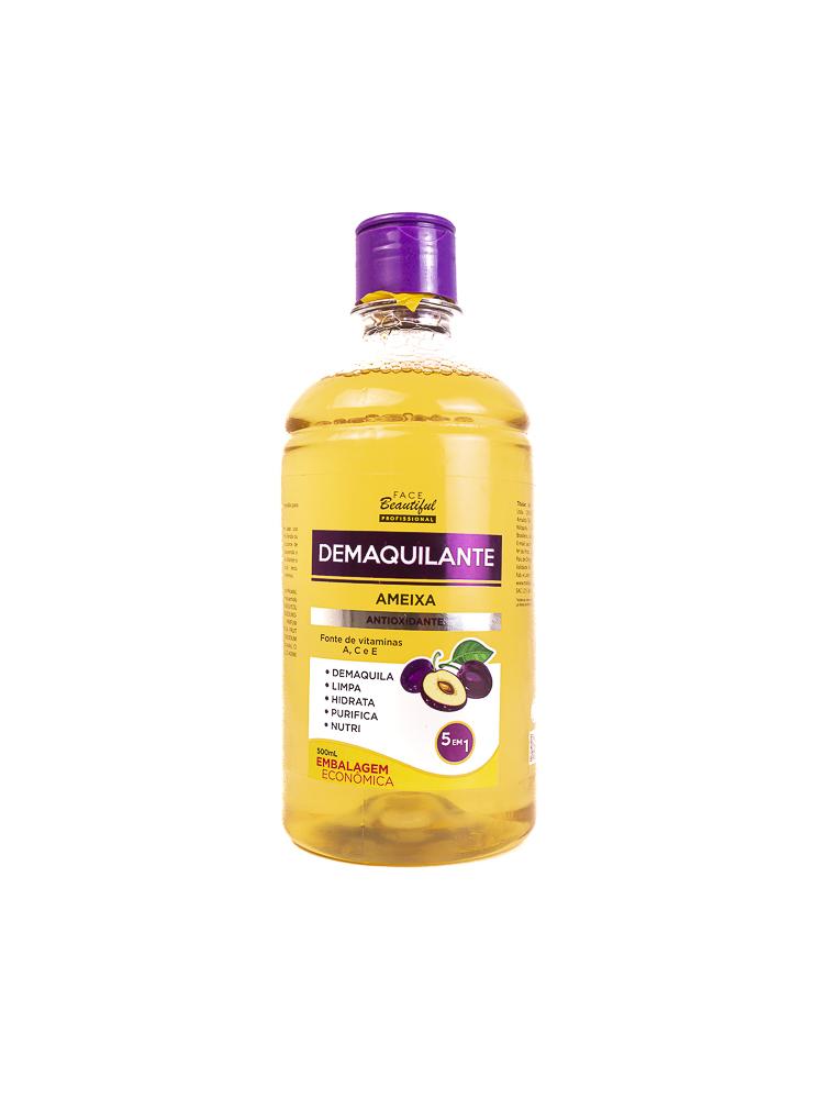Demaquilante Ameixa Antioxidante 500ml - Face Beautiful
