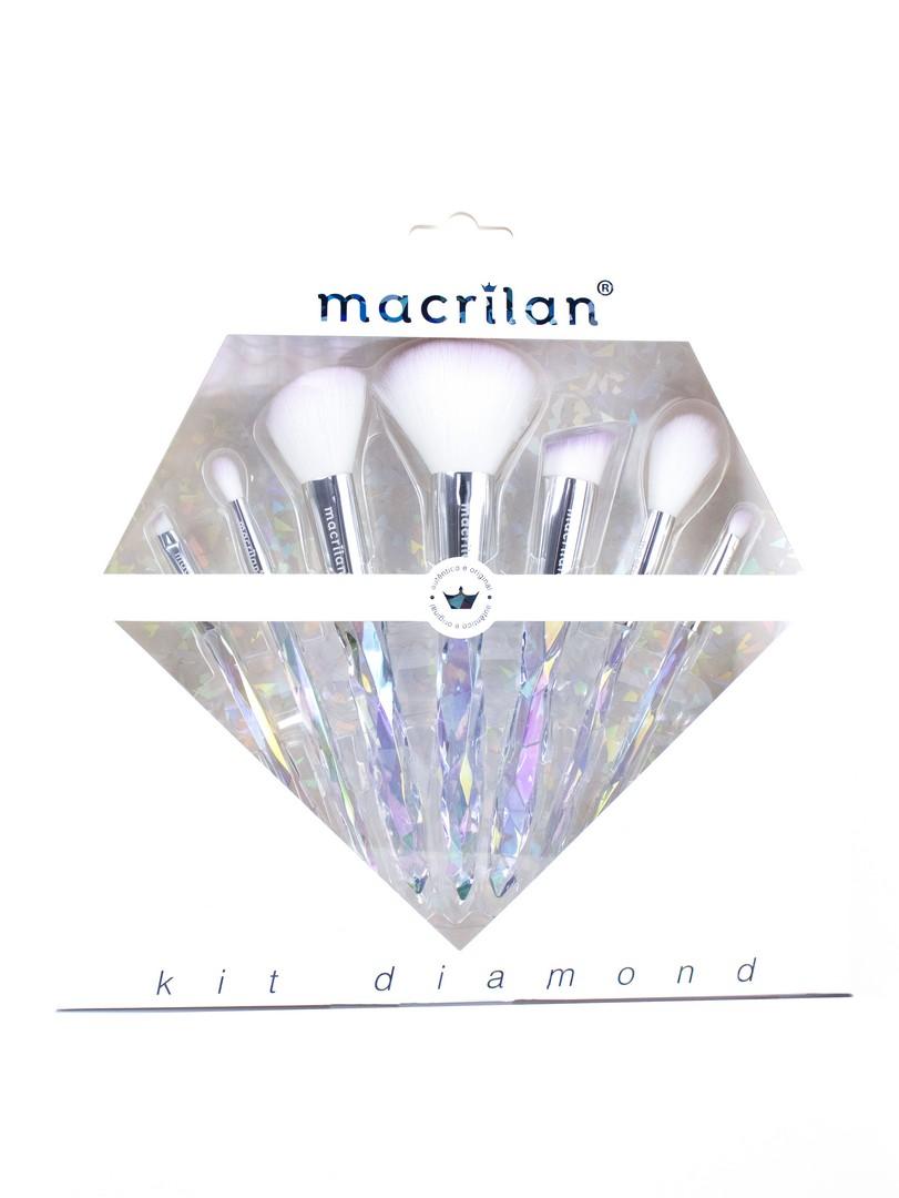 Kit de Pincéis Diamond - Macrilan