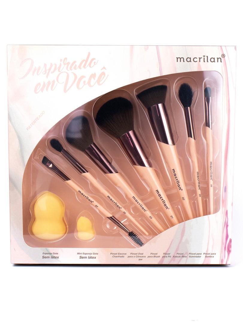 Kit de Pincéis Inspirado em Você - Macrilan