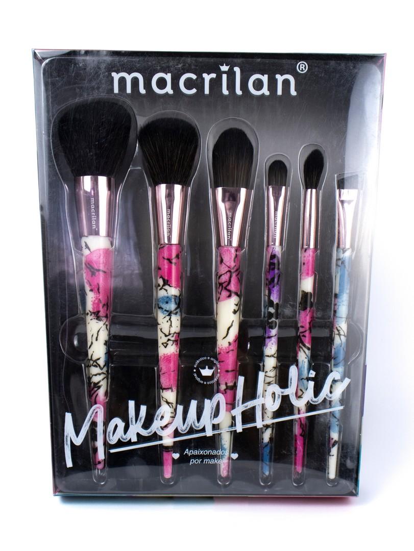 Kit de Pincéis Makeup Holic - Macrilan