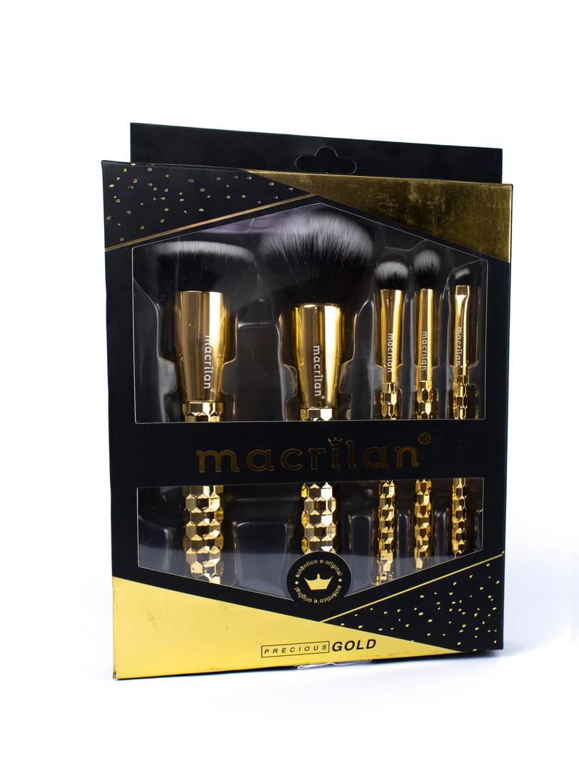Kit Pincéis de Precious Gold - Macrilan