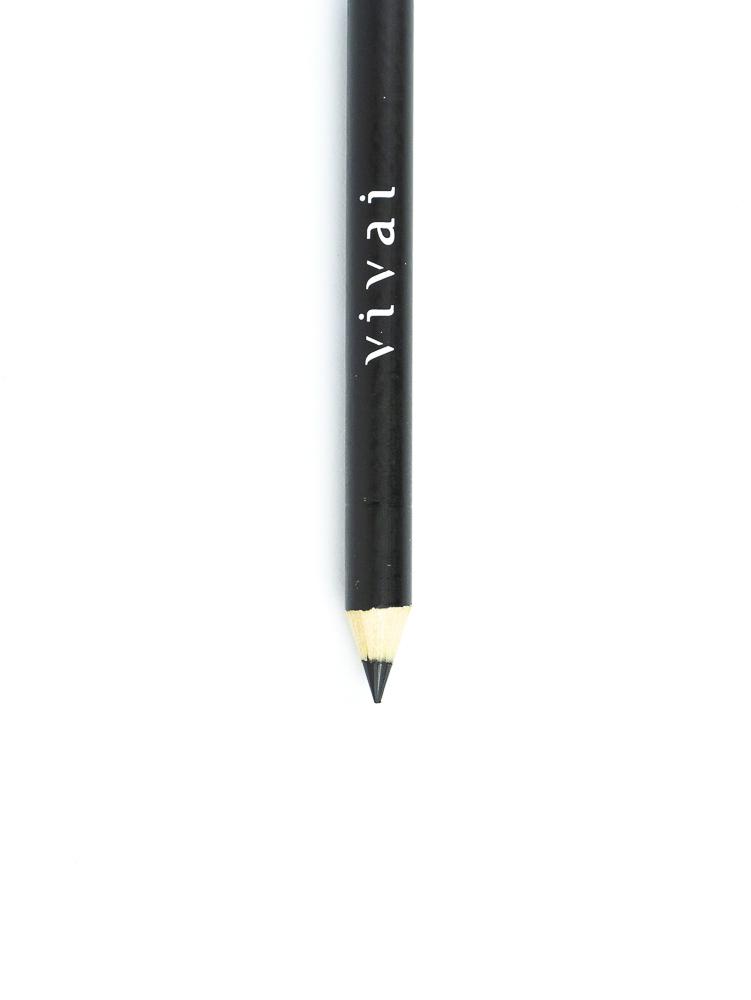 Lápis para Olhos Preto com Apontador - Vivai
