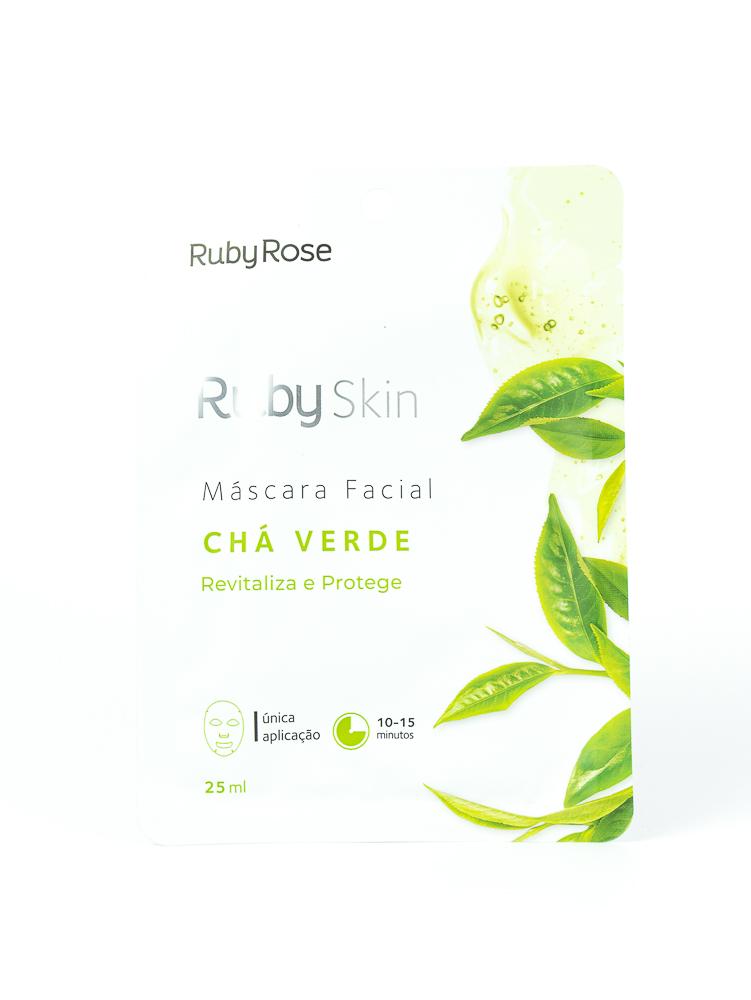 Máscara Facial Chá Verde - Ruby Rose