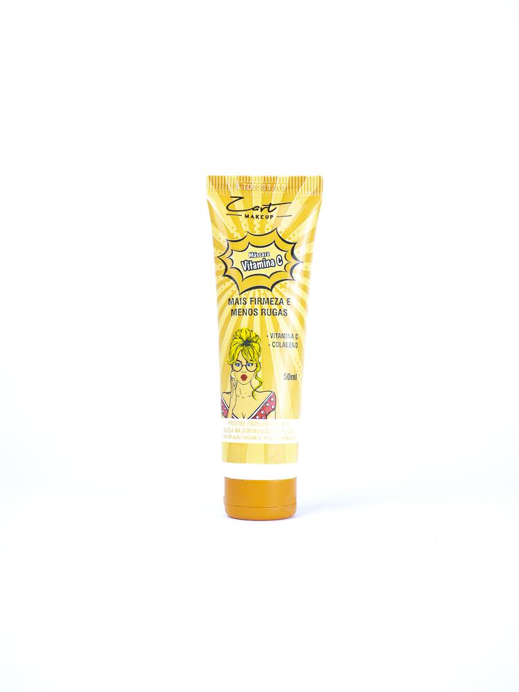 Máscara Vitamina C Mais Firmeza e Menos Rugas - Zart Makeup