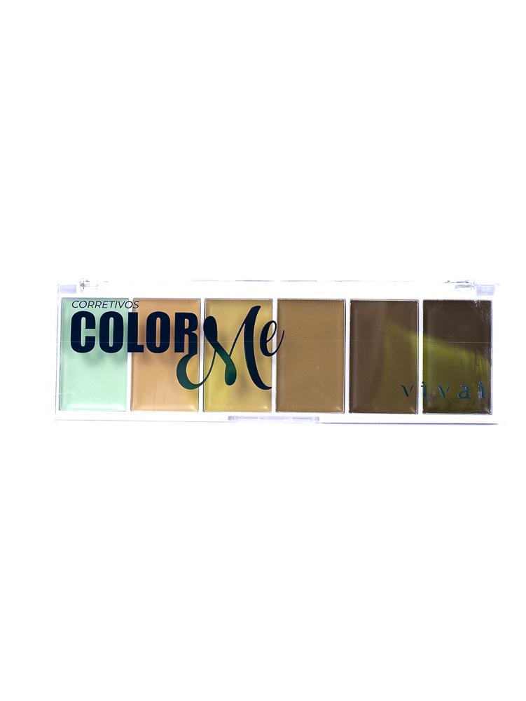 Paleta de Corretivos Color Me - Vivai
