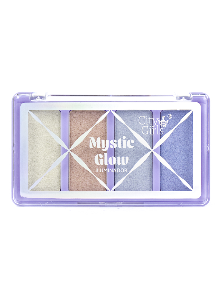 Paleta de Iluminador Mystic Glow - City Girls