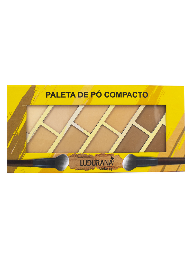 Paleta de Pó Compacto - Ludurana