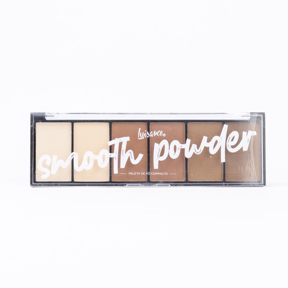 Paleta De Pó Smooth Powder - Luisance