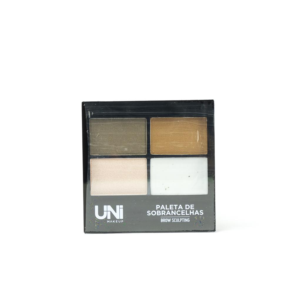 Paleta de Sobrancelhas Brow Sculpting - Uni Makeup