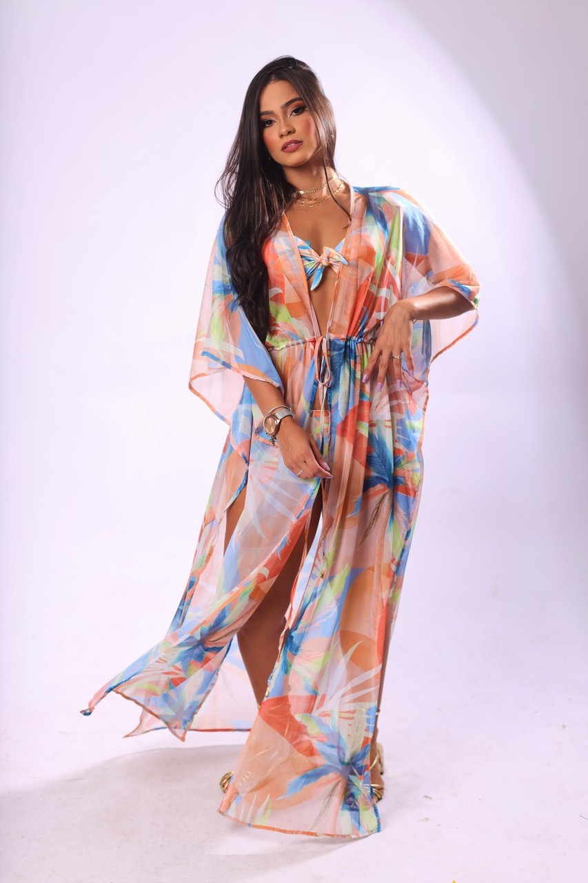 vestido camapú Noiva do Sol