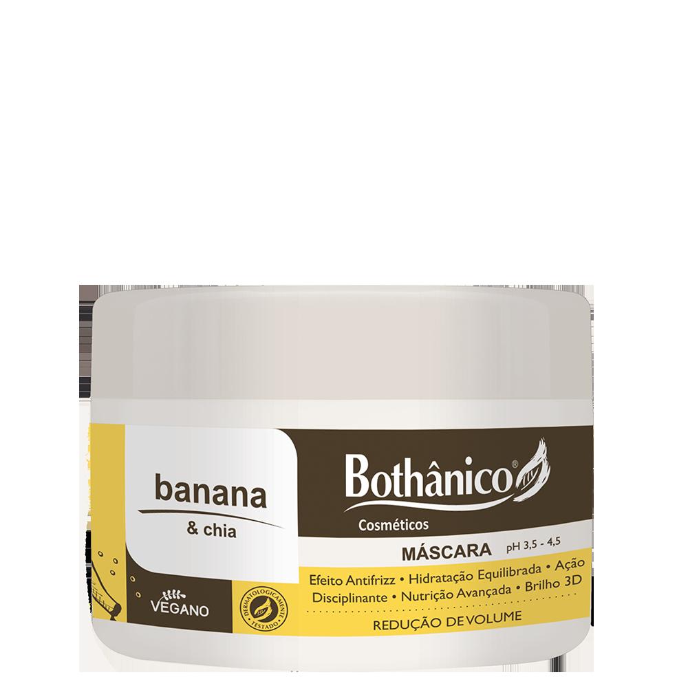 Máscara de Hidratação Banana & Chia 250g