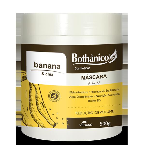 Máscara de Hidratação Banana & Chia 500g