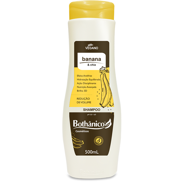 Shampoo Banana & Chia 500mL