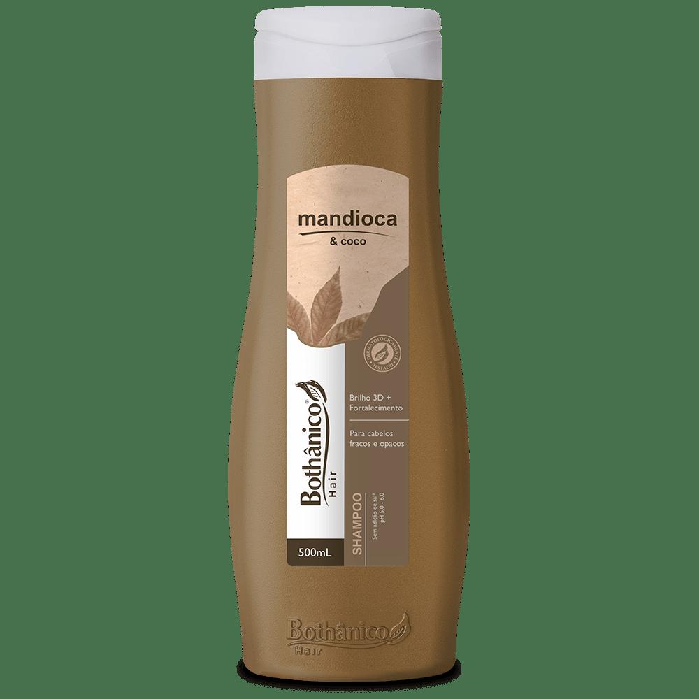 Shampoo Mandioca & Coco 500mL