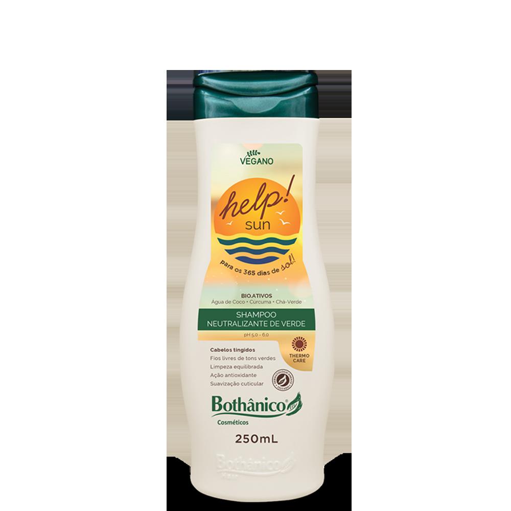 Shampoo Neutralizante de Verde Help! Sun 250mL