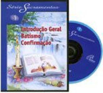 Introducao geral, batismo, confirmacao - S. Sacramentos 1 - DVD (114 min.)