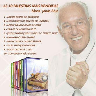 KIT AS 10+ MONSENHOR JONAS ABIB (PALESTRAS EM DVD)