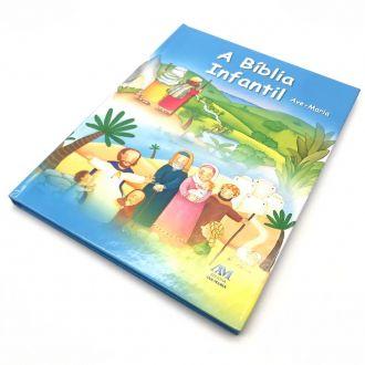 A Bíblia Sagrada Infantil Crianças Capa Dura Ave Maria