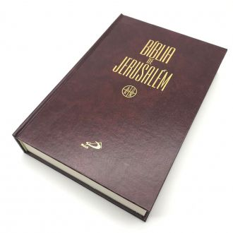 BIBLIA SAGRADA DE JERUSALEM MÉDIA CAPA DURA