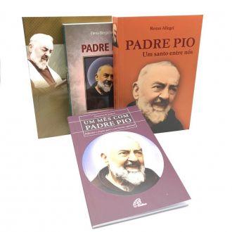 Kit Livros do Padre Pio Clássicos