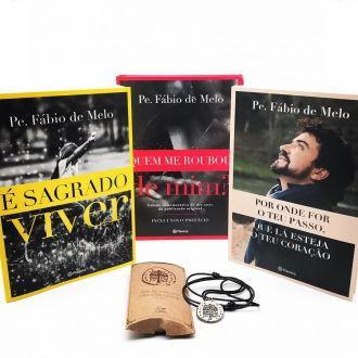 Kit Livros Padre Fábio de Melo Os Mais Vendidos + Brinde